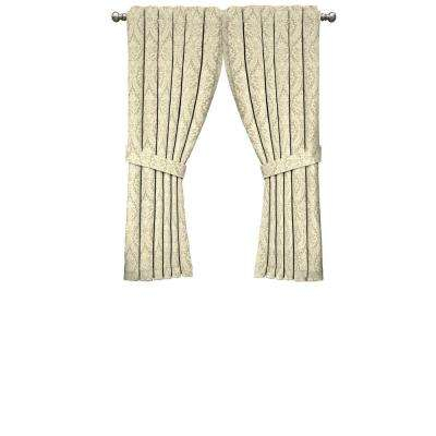 Donnington Window Curtain Panel In Linen – 52 In. W X 63 In (View 25 of 25)