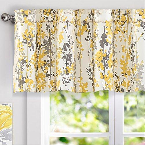 Draperies & Curtains – Buy Draperies & Curtains At Best Throughout Floral Blossom Ink Painting Thermal Room Darkening Kitchen Tier Pairs (View 21 of 25)