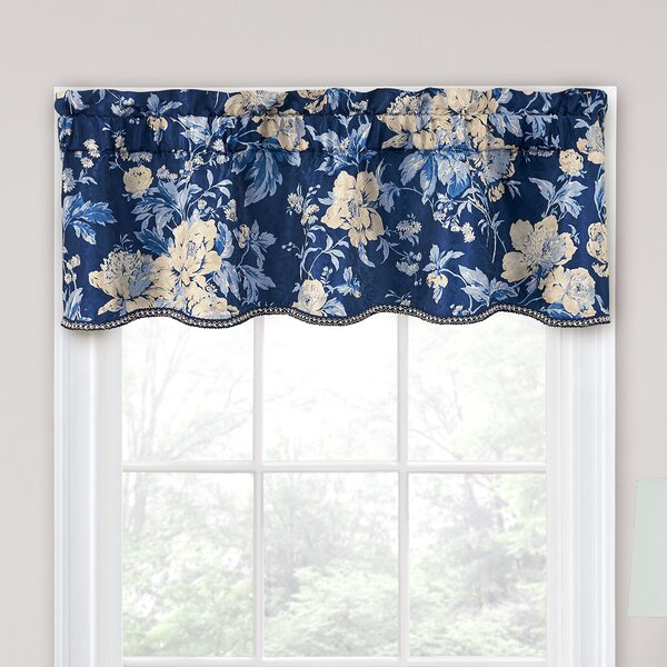 Drapes And Valances | Wayfair With Regard To Class Blue Cotton Blend Macrame Trimmed Decorative Window Curtains (View 19 of 25)