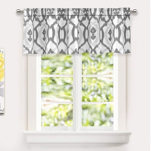 Driftaway Evelyn Ikat Fleur/floral Pattern Window Curtain For Floral Pattern Window Valances (View 2 of 25)