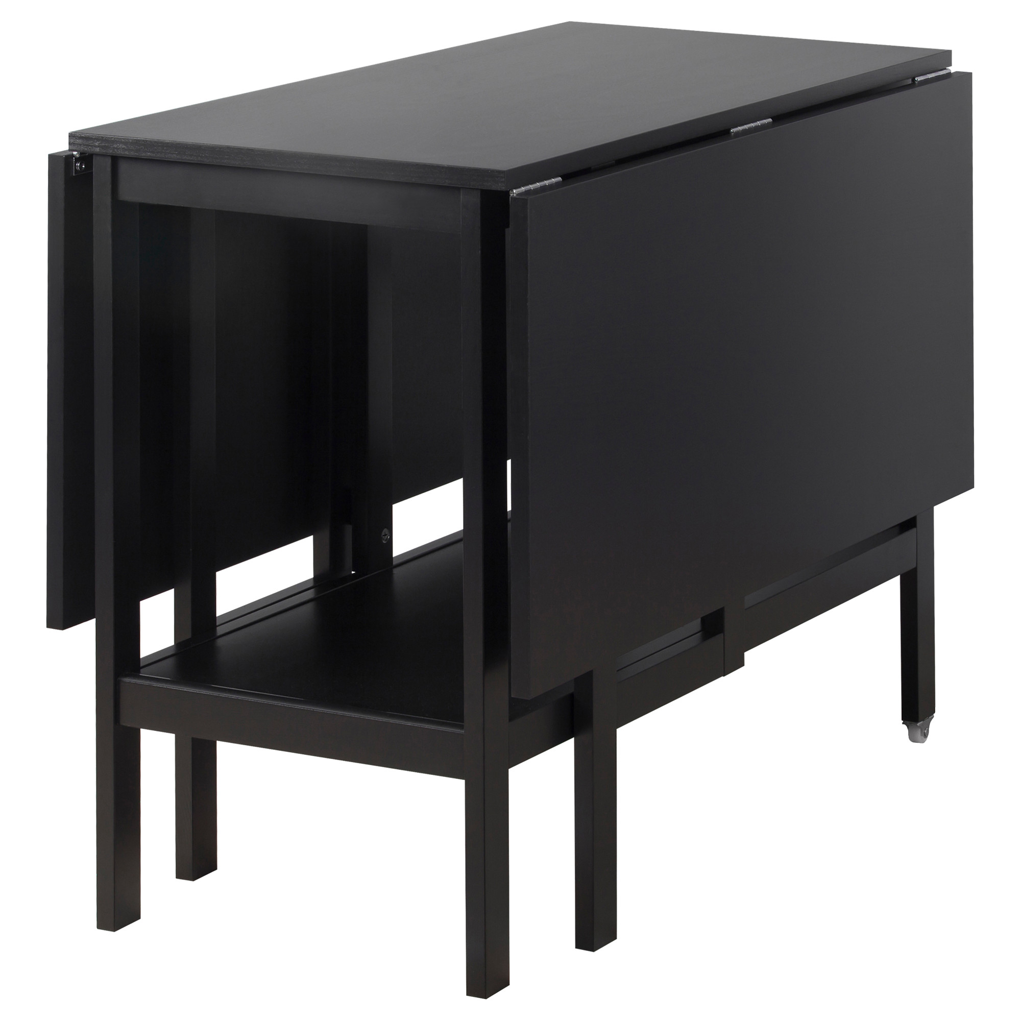Drop Leaf Table Black – Martinique Within Best And Newest Black Shayne Drop Leaf Kitchen Tables (View 5 of 25)