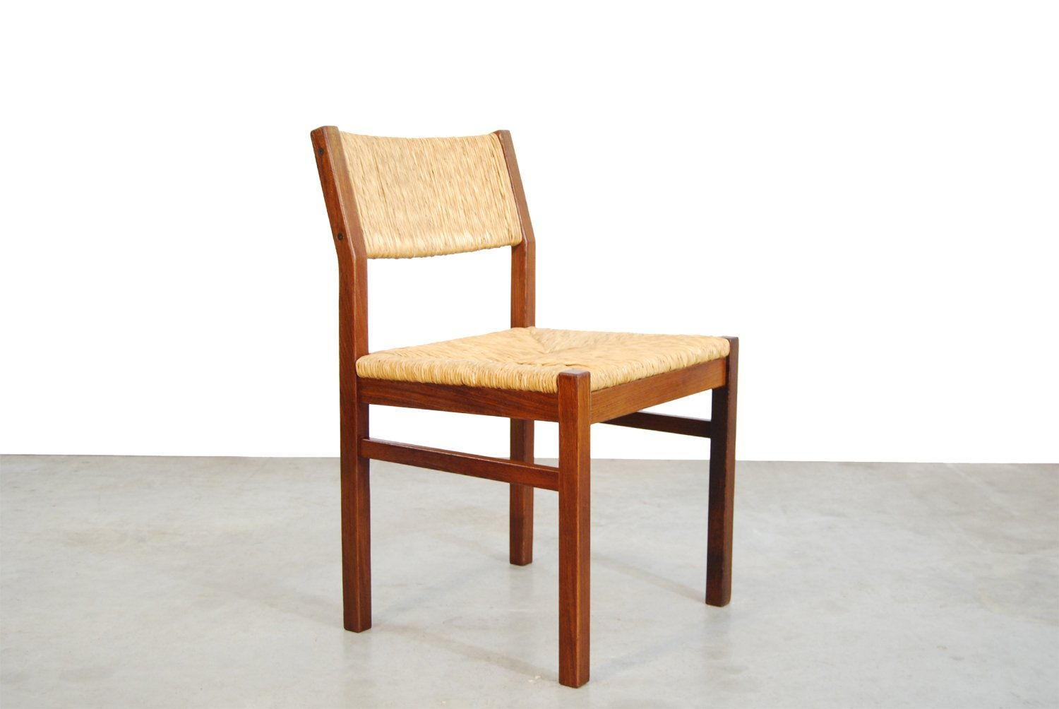 Dutch Ash & Reed Dining Chair From Pastoe, 1970S With Latest Reed Extending Dining Tables (View 17 of 25)