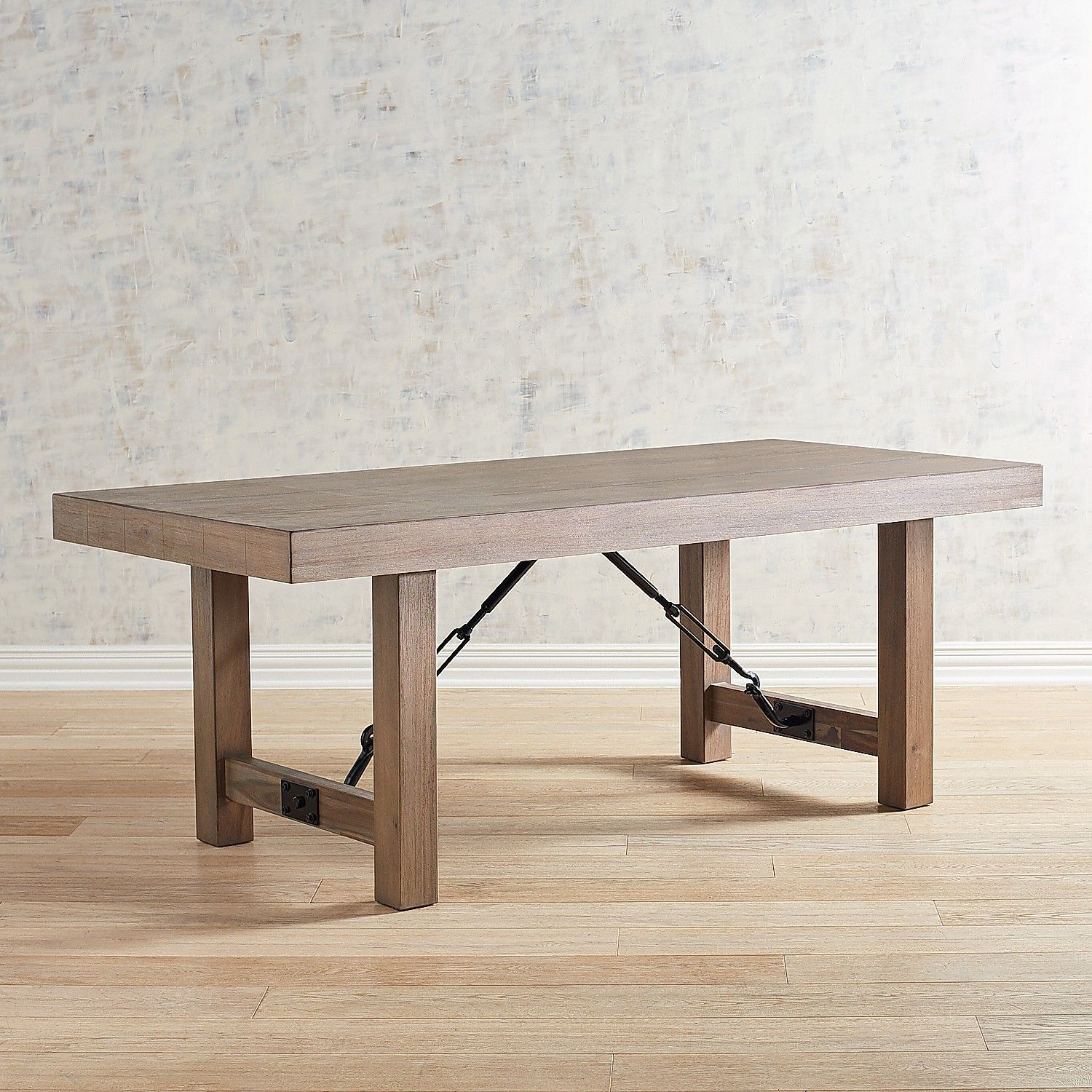 """Eastwood Shadow Gray 78"""" Dining Table In 2019 