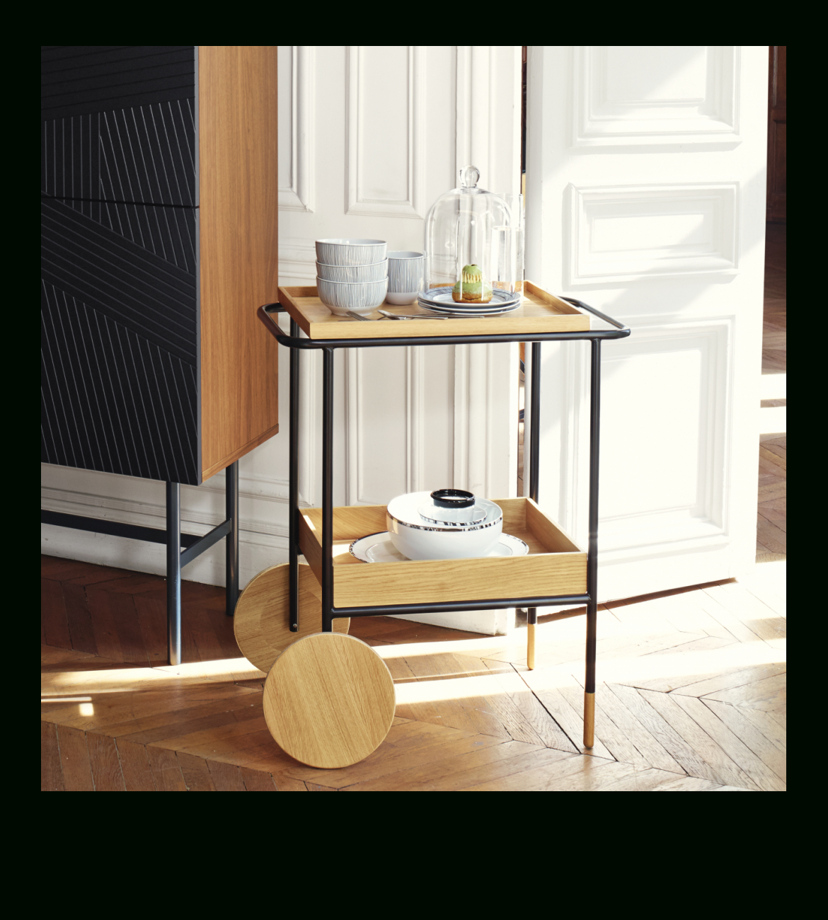 Edgar – Sideboard – Habitat | Trolley / Cart | Sideboard Pertaining To Most Current Edgar Bar Tables (View 16 of 25)