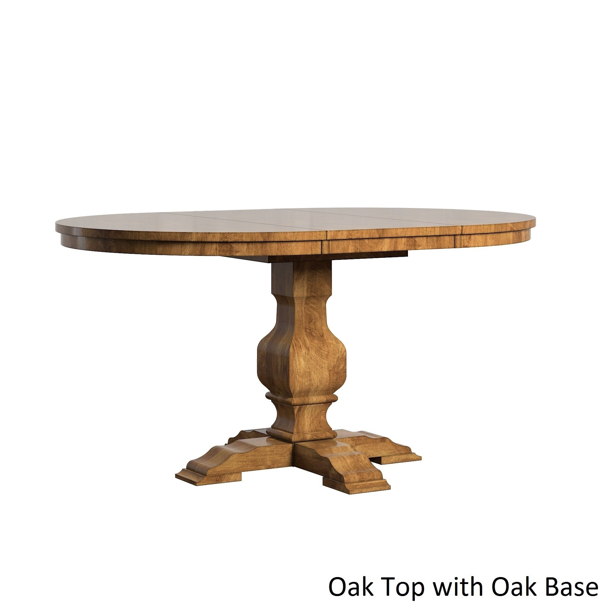 Eleanor Two Tone Oval Solid Wood Top Extending Dining Tableinspire Q Classic Pertaining To Most Up To Date Blackened Oak Benchwright Extending Dining Tables (View 25 of 25)