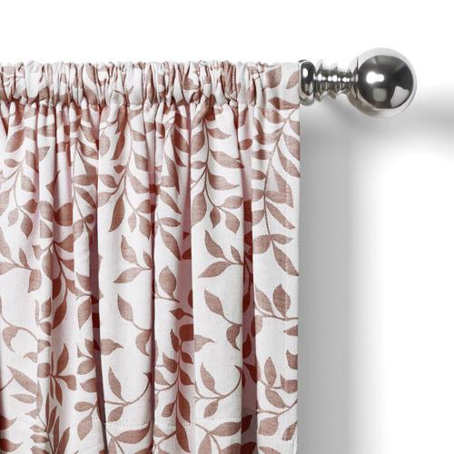 Elrene Home Fashions Serene Rod Pocket Light Filtering For Serene Rod Pocket Kitchen Tier Sets (View 6 of 25)