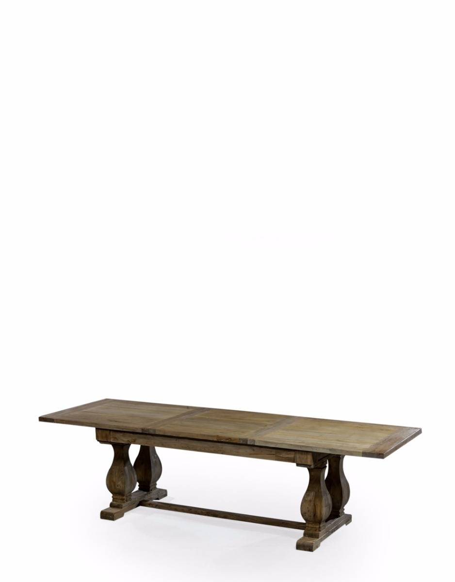 Enchanting Rustic Reclaimed Wood Extending Dining Table For Most Recent Hart Reclaimed Wood Extending Dining Tables (Image 5 of 25)