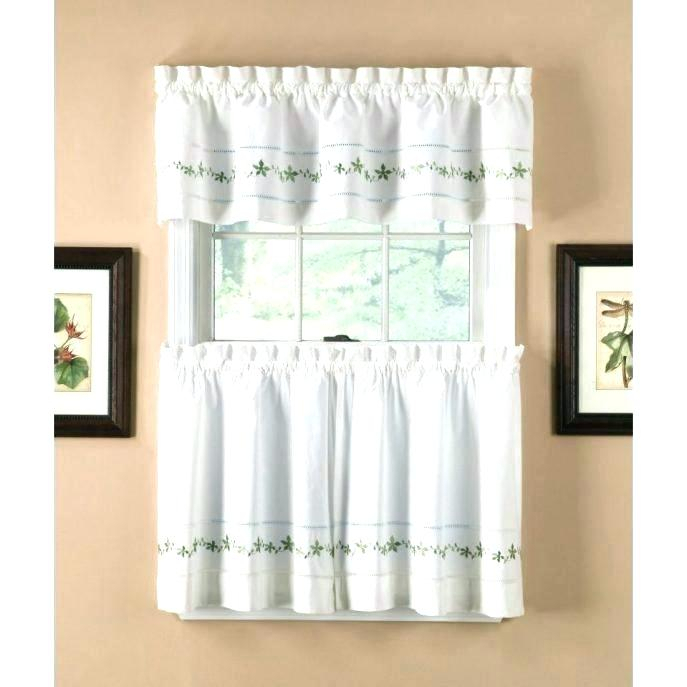 Exciting 5 Piece Kitchen Curtain Sets Kitchenaid Blender Intended For Cotton Lace 5 Piece Window Tier And Swag Sets (View 11 of 25)