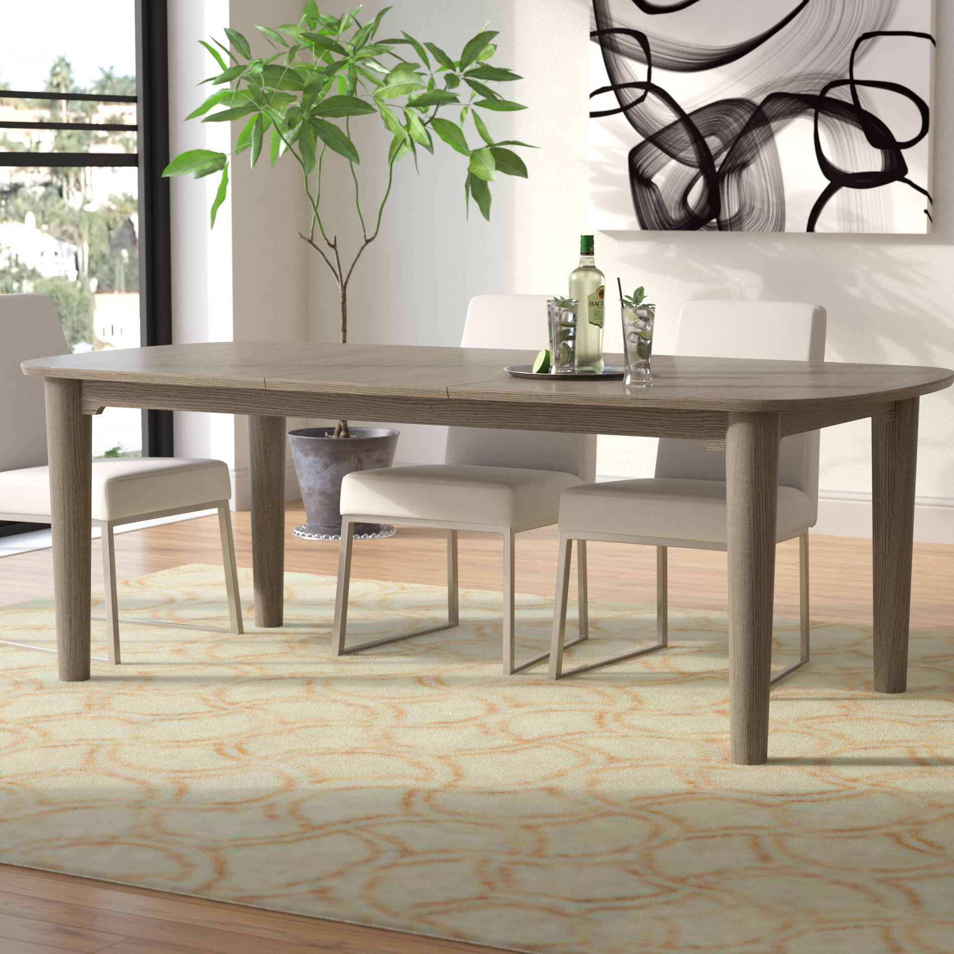 Extendable Dining Table With Bench | Interior Design Ideas Inside Most Current Seadrift Toscana Extending Dining Tables (View 24 of 25)