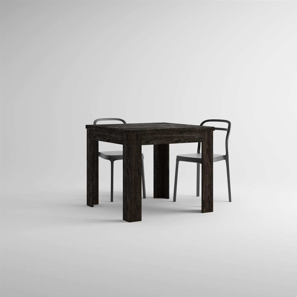 Extendable Table, Eldorado, Brown Oak Pertaining To Recent Black Wash Banks Extending Dining Tables (View 22 of 25)