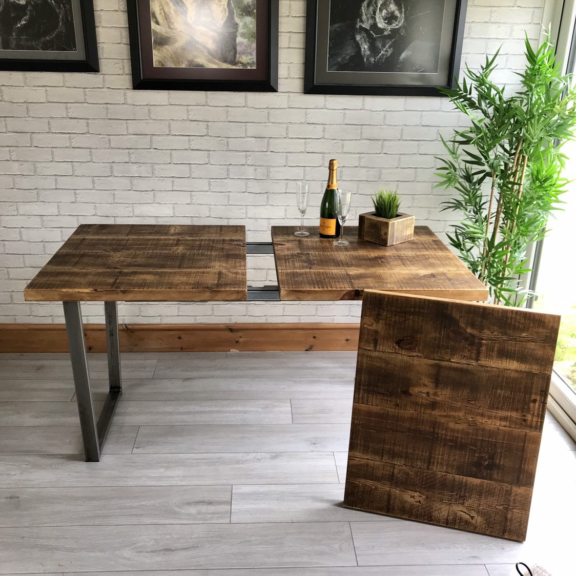 Extending Industrial Calia Dining Table For Most Current Faye Extending Dining Tables (View 22 of 25)