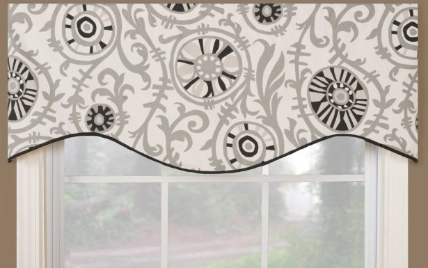 Fascinating Window Valance White Knit Lace Bird Motif With Regard To White Knit Lace Bird Motif Window Curtain Tiers (View 5 of 25)