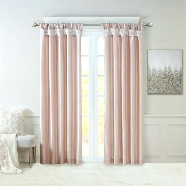Faux Silk Drapes – Rocard Throughout Faux Silk 3 Piece Kitchen Curtain Sets (View 23 of 25)