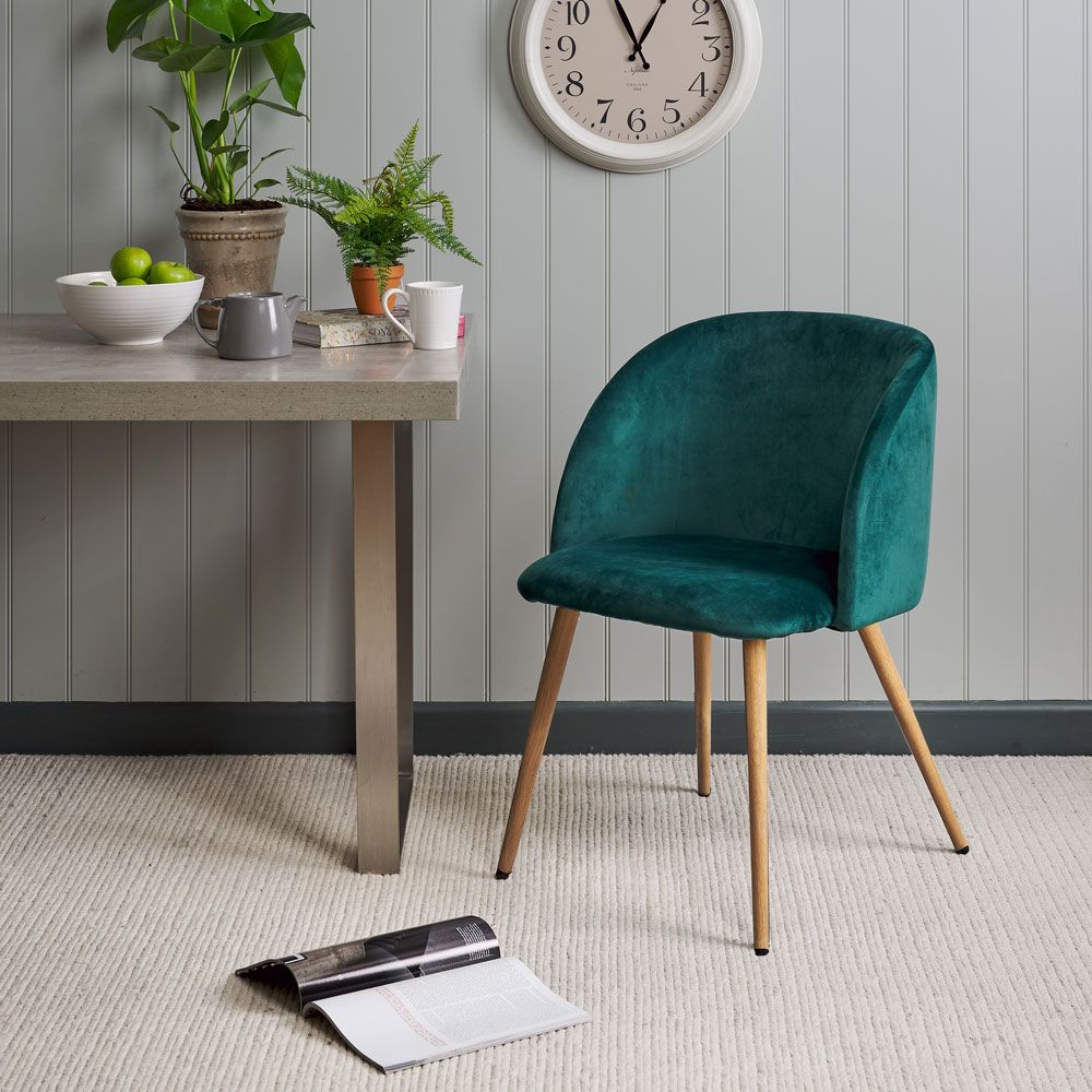 Faye Dining Chair – Emerald In Newest Faye Extending Dining Tables (View 10 of 25)