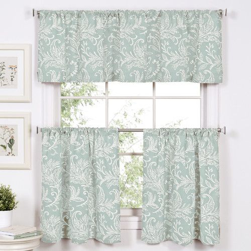 Featured Image of Tree Branch Valance And Tiers Sets