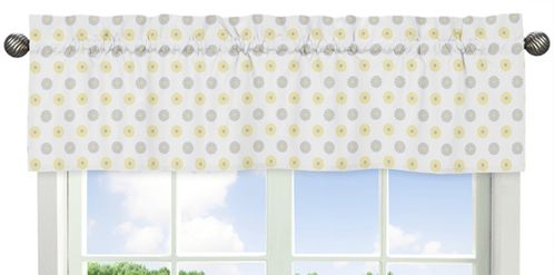Floral Print Window Valance For Mod Garden Collectionsweet Jojo Designs Pertaining To Floral Pattern Window Valances (View 4 of 25)