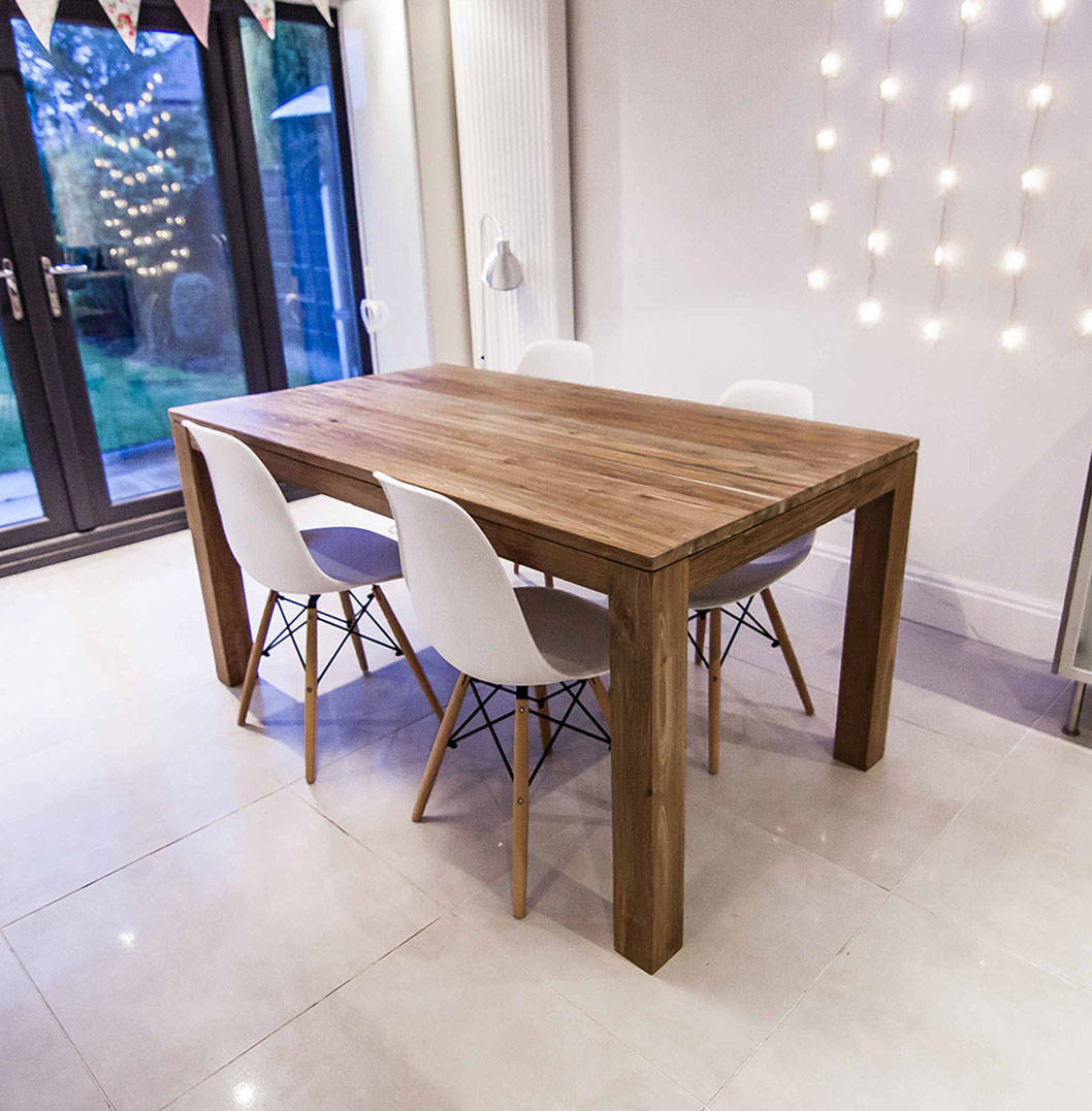 Furniture Dining Room Reclaimed Extending Table Wood Intended For Most Popular Hart Reclaimed Wood Extending Dining Tables (Image 9 of 25)