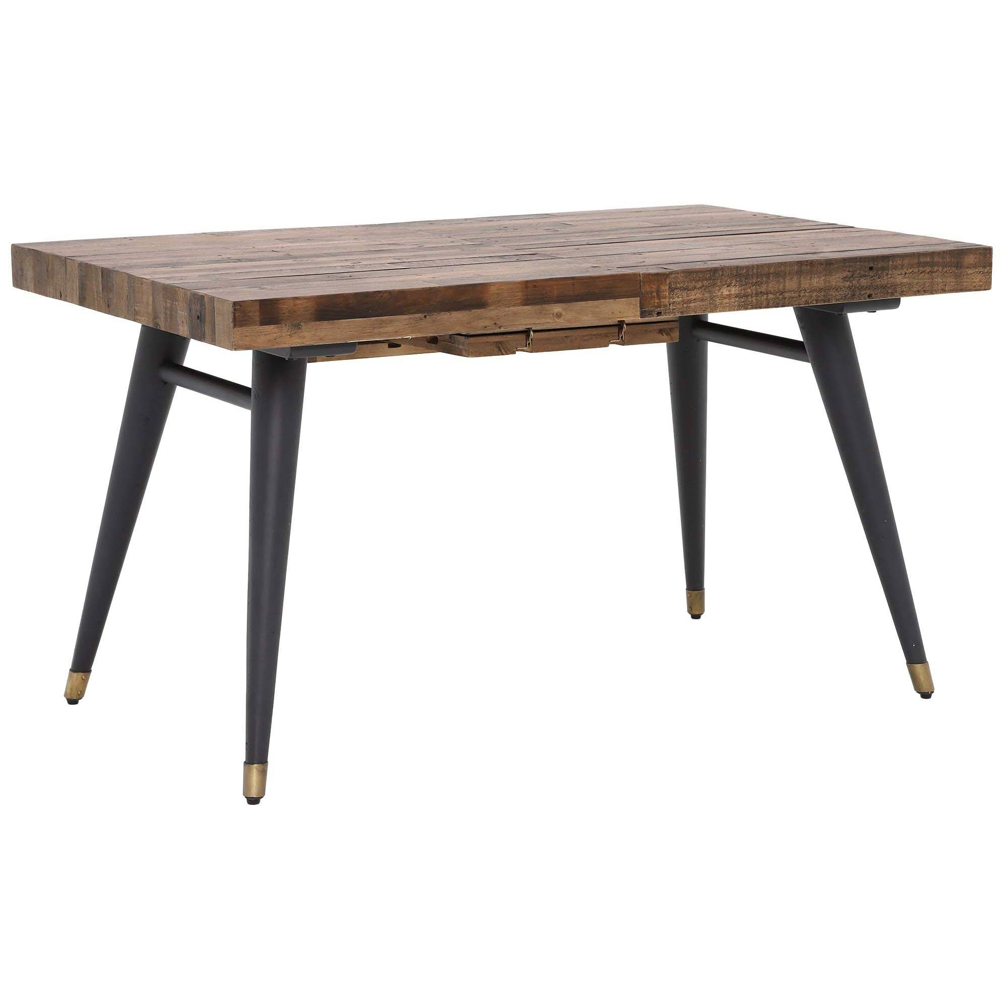 Furniture Dining Room Reclaimed Extending Table Wood Within Recent Hart Reclaimed Wood Extending Dining Tables (Image 11 of 25)