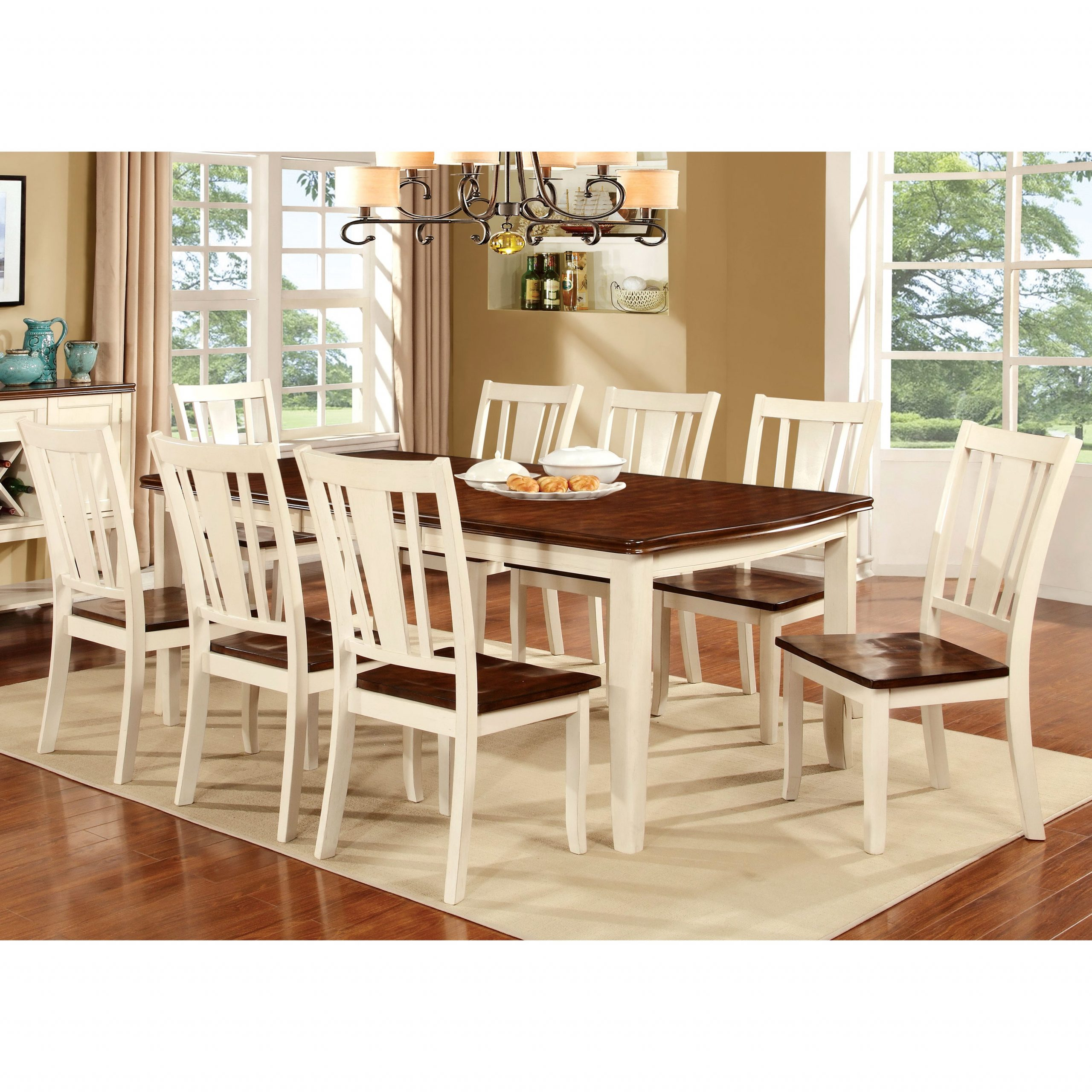 Furniture Of America Betsy Jane Country Style Dining Table Inside Recent Faye Extending Dining Tables (View 23 of 25)