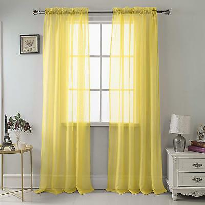 Geri Tailored Valance And 2 Sets Of Tiers Buttercup Yellow Inside Bermuda Ruffle Kitchen Curtain Tier Sets (Image 7 of 25)