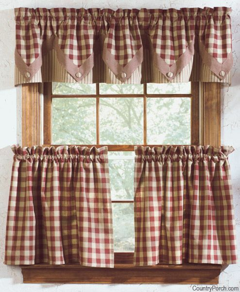 Getting Down And Rusty With Rustic Curtains For That Antique In Rustic Kitchen Curtains (View 4 of 25)