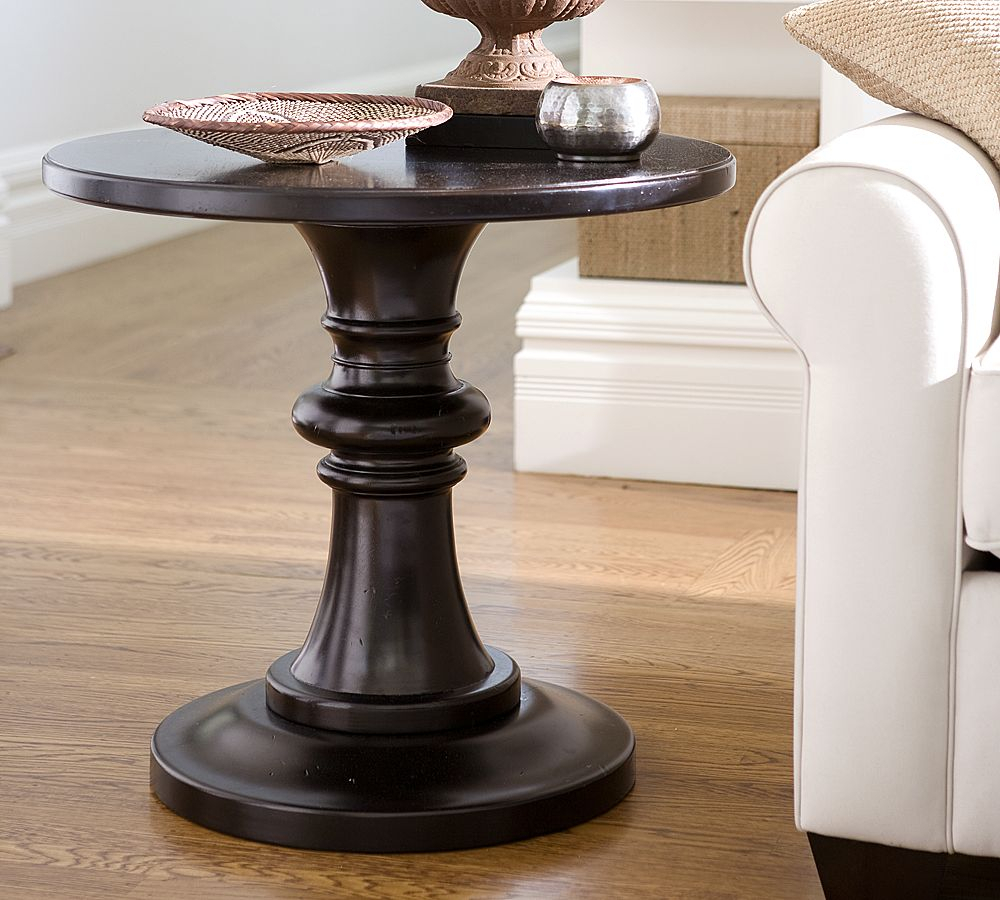 Good Round Bedside Table | Royals Courage With Regard To Current Dawson Pedestal Tables (View 18 of 25)