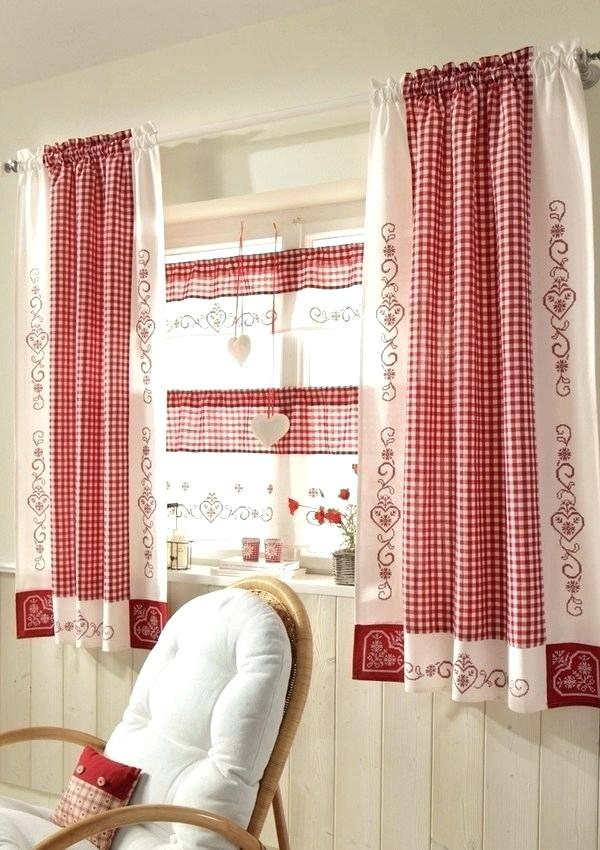 Green Kitchen Curtains – Argotcomunicacion Inside Red Rustic Kitchen Curtains (View 19 of 25)
