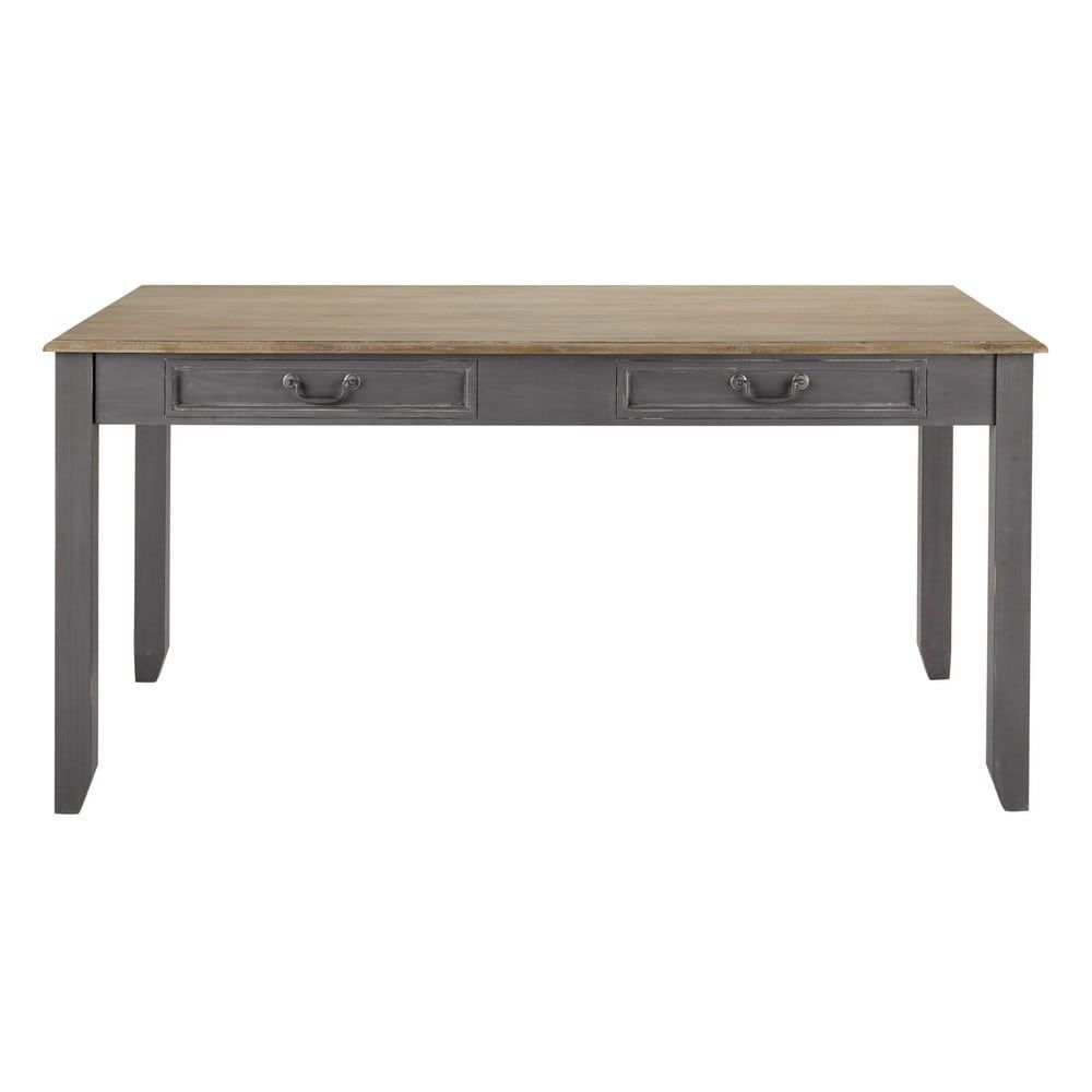 Grey Extendible 6 8 Seater Dining Table W 160/210 Cm In Most Popular Faye Extending Dining Tables (View 4 of 25)