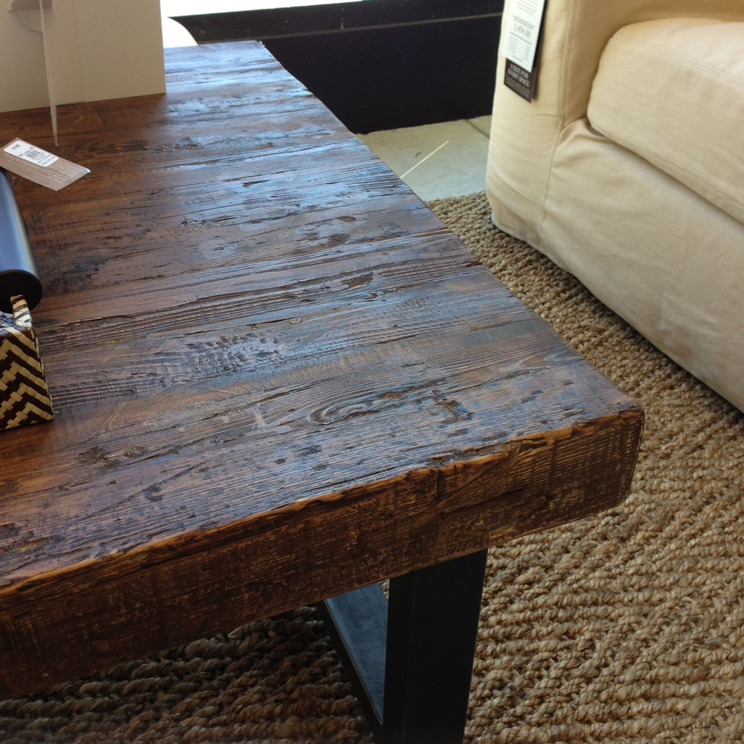 Griffin Reclaimed Wood Coffee Table | Diy Coffee Table Within Most Popular Griffin Reclaimed Wood Dining Tables (View 5 of 25)