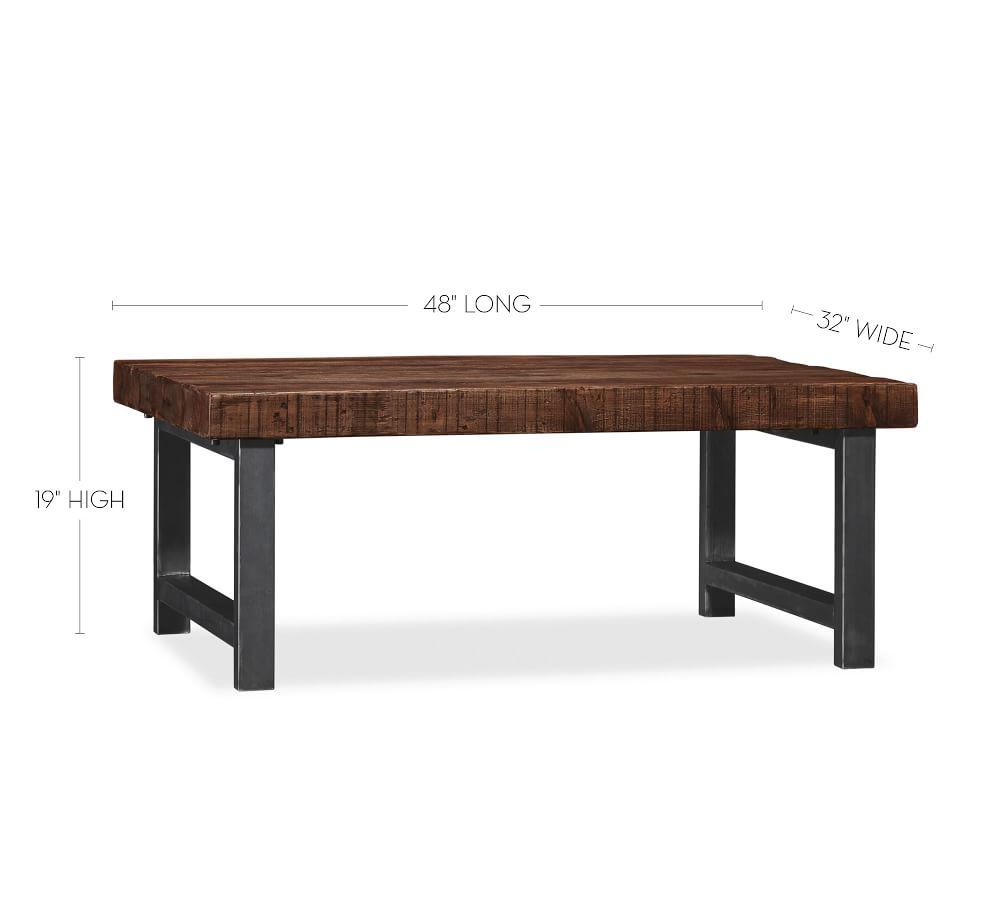 Griffin Reclaimed Wood Coffee Table Within Most Popular Griffin Reclaimed Wood Dining Tables (View 6 of 25)