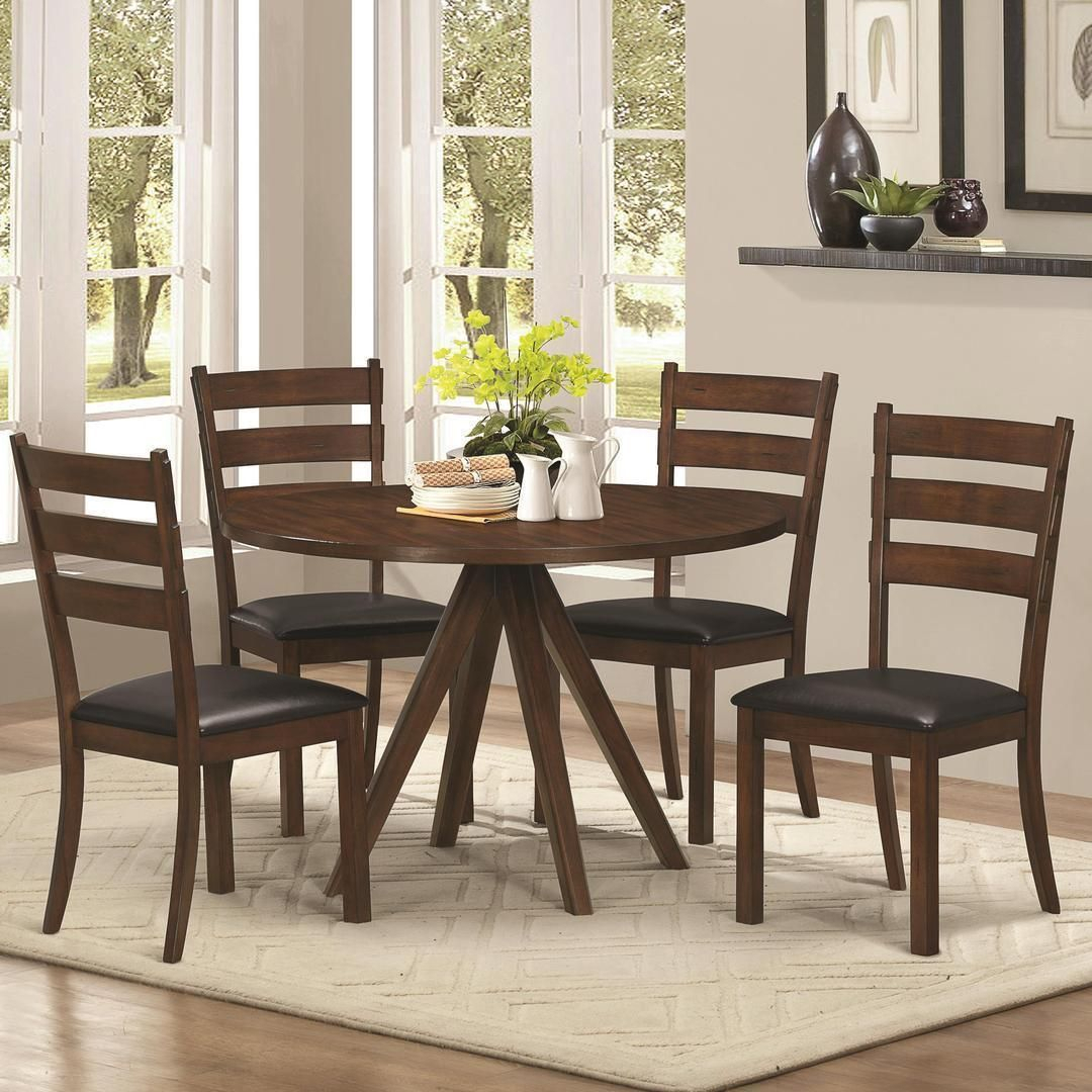 Hailey Brooks Dining Collection (Hailey Brooks 5Pc Dining Intended For Best And Newest Brooks Round Dining Tables (View 5 of 25)