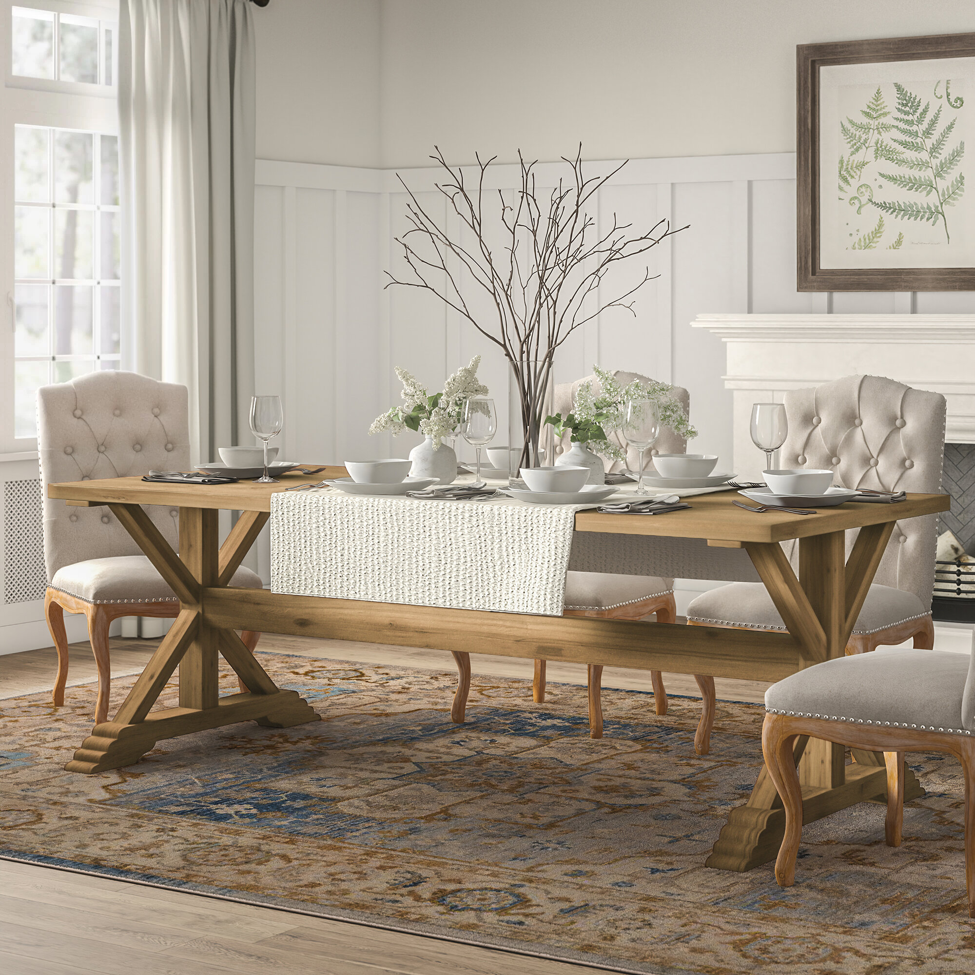 Hammersley Dining Table Regarding 2018 Faye Extending Dining Tables (View 24 of 25)