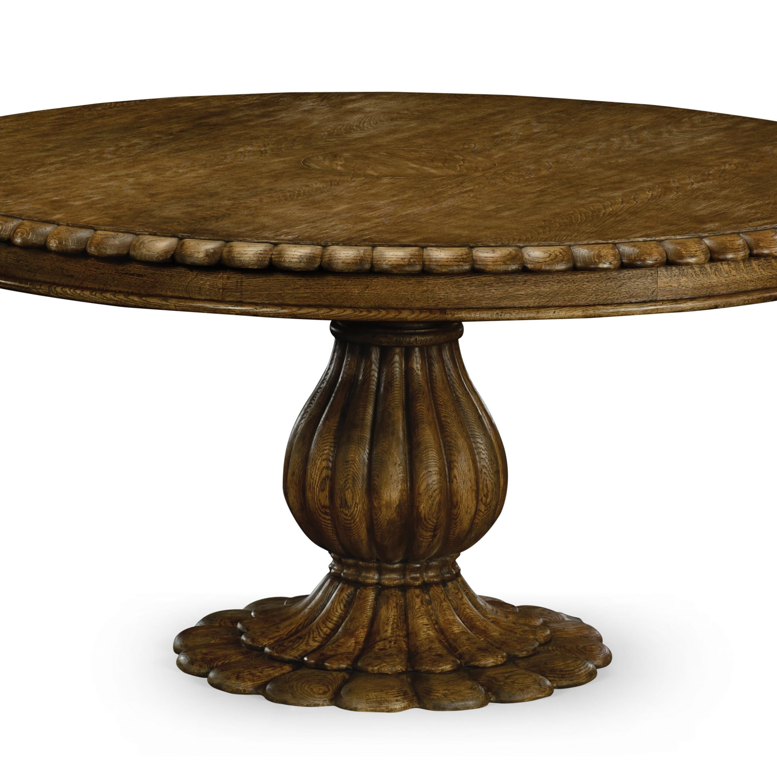 Havelock Solid Wood Dining Table With 2018 Cleary Oval Dining Pedestal Tables (View 8 of 25)