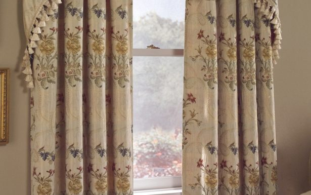 Hervorragend Red And White Swag Kitchen Curtains Window In Embroidered Floral 5 Piece Kitchen Curtain Sets (View 21 of 25)