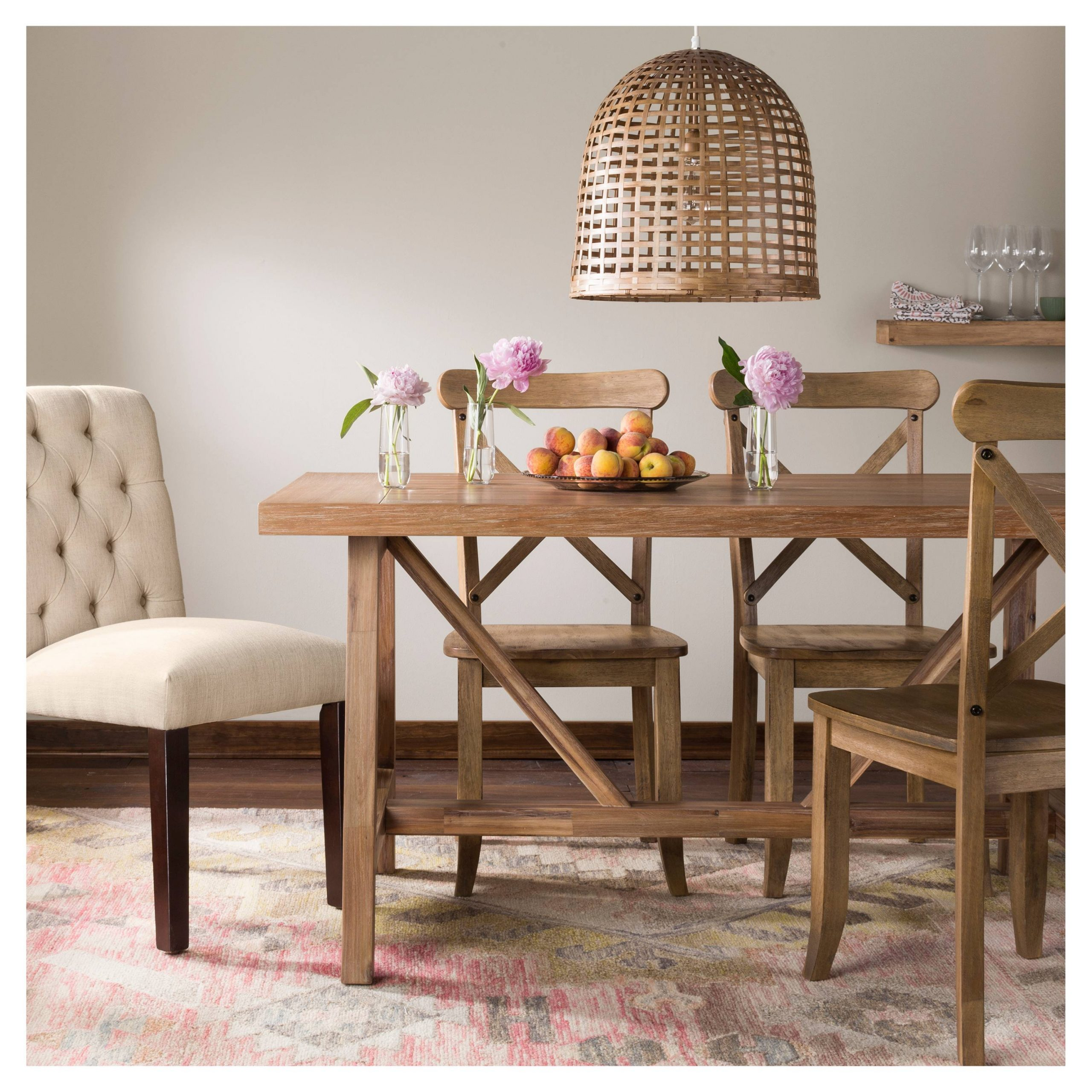High Or Low // Farmhouse Table Sets – My 100 Year Old Home With Regard To Latest Seadrift Toscana Dining Tables (View 18 of 25)