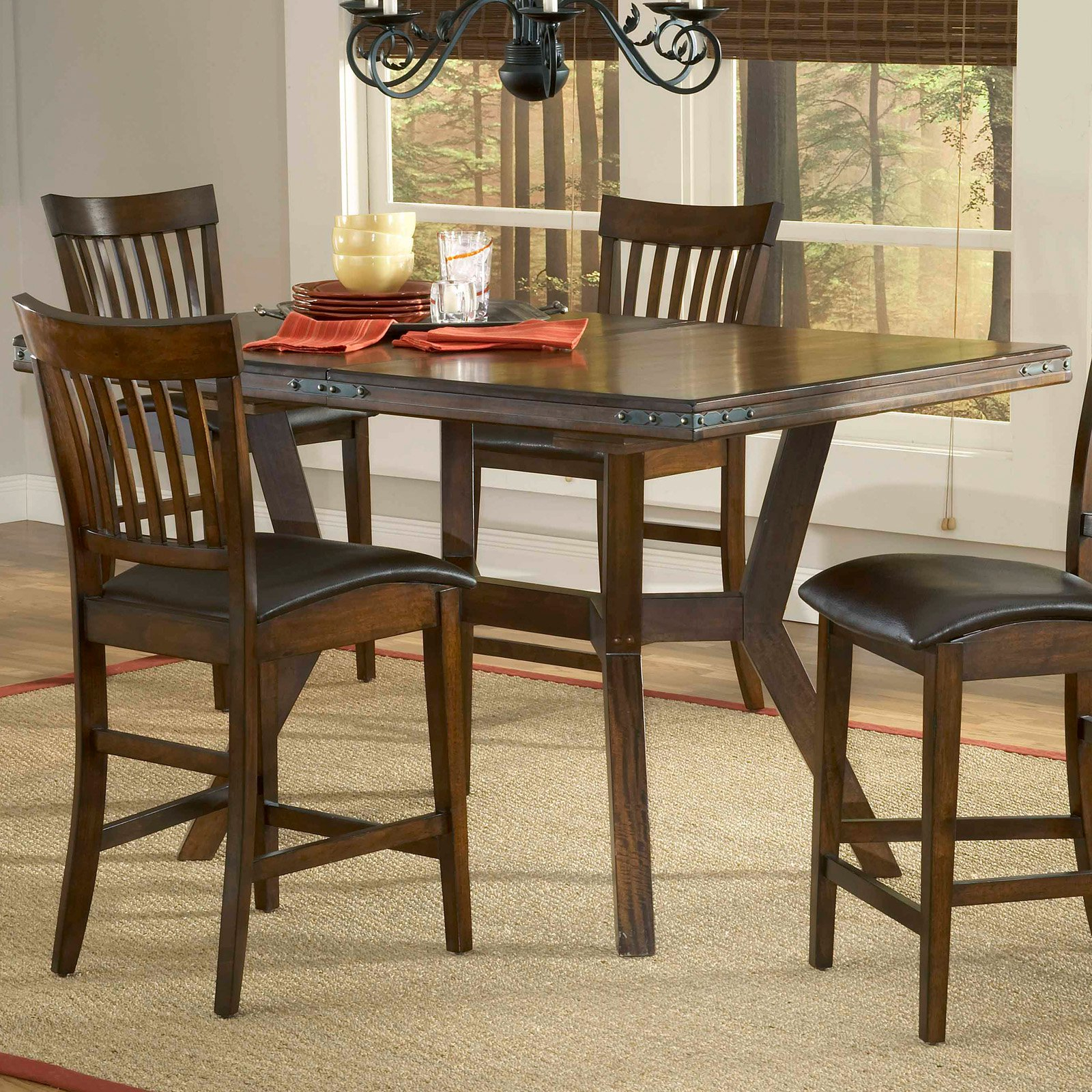 Hillsdale Arbor Hill Extension Counter Height Table In 2019 Regarding 2018 Avondale Counter Height Dining Tables (View 17 of 25)