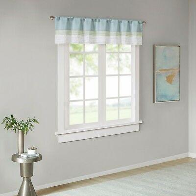 Home Essence Salem Polyoni Pintuck Lined Window Valance 675716700188 | Ebay Inside Hudson Pintuck Window Curtain Valances (Image 13 of 25)