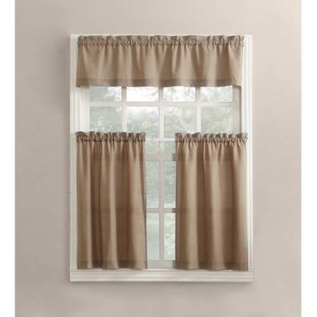 Featured Image of Wallace Window Kitchen Curtain Tiers