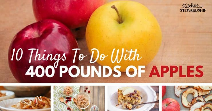 How To Use And Preserve Apples – Dehydrate, Freeze Or Can! Pertaining To Apple Orchard Printed Kitchen Tier Sets (View 5 of 25)