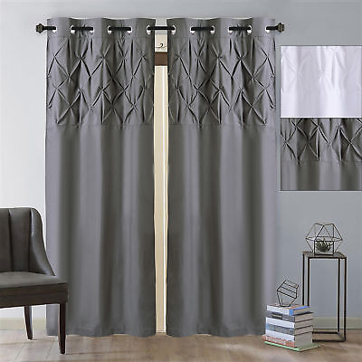 Featured Image of Hudson Pintuck Window Curtain Valances