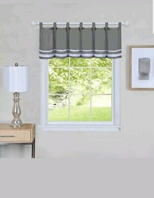"Hudson Pintuck Window Curtain Valance 12""x60 – $ (Image 16 of 25)"