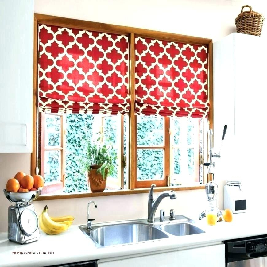 Ideas For Kitchen Curtains Contemporary Red Modern Designer With Red Rustic Kitchen Curtains (Image 12 of 25)