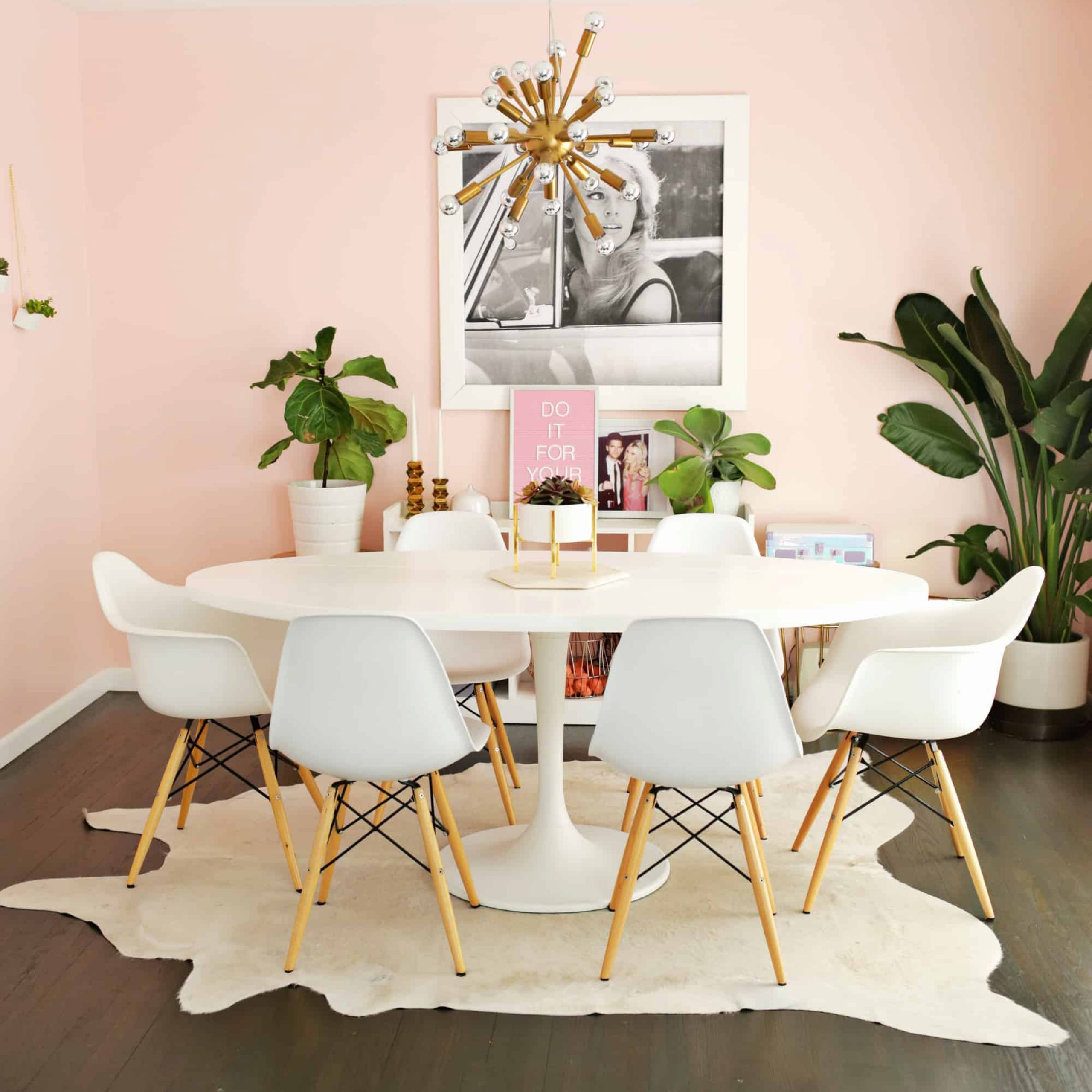 Ikea Docksta Table Hack! – A Beautiful Mess In Most Popular Chapman Round Marble Dining Tables (View 16 of 25)