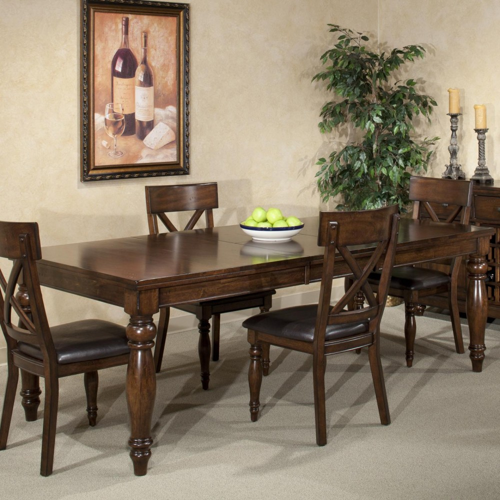 Intercon Kingston Dining Table Inside 2017 Bismark Dining Tables (View 5 of 25)