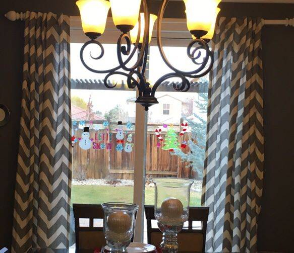 Interiors Modern Pattern Window Curtains Blue Curtain Panels For Circle Curtain Valances (View 19 of 25)