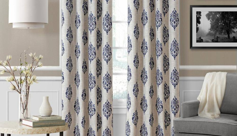 Interiors Window Coverings For Bedrooms Bedroom Curtains Within Scroll Leaf 3 Piece Curtain Tier And Valance Sets (View 9 of 25)