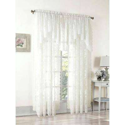 Ivory Lace Curtains – Shopsilver (Image 4 of 25)