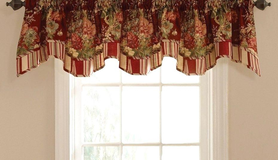 Jcpenney Curtains Valances – Senspa (View 24 of 25)