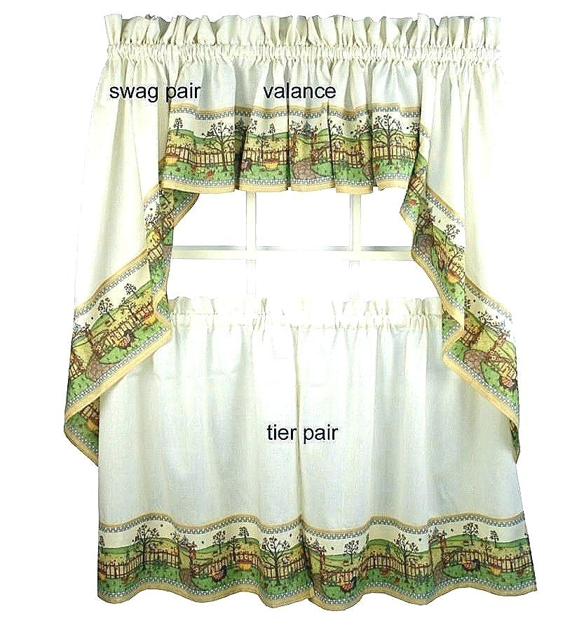 Jcpenney Kitchen Curtains – Wanamakerbuilding Regarding Floral Embroidered Sheer Kitchen Curtain Tiers, Swags And Valances (View 21 of 25)