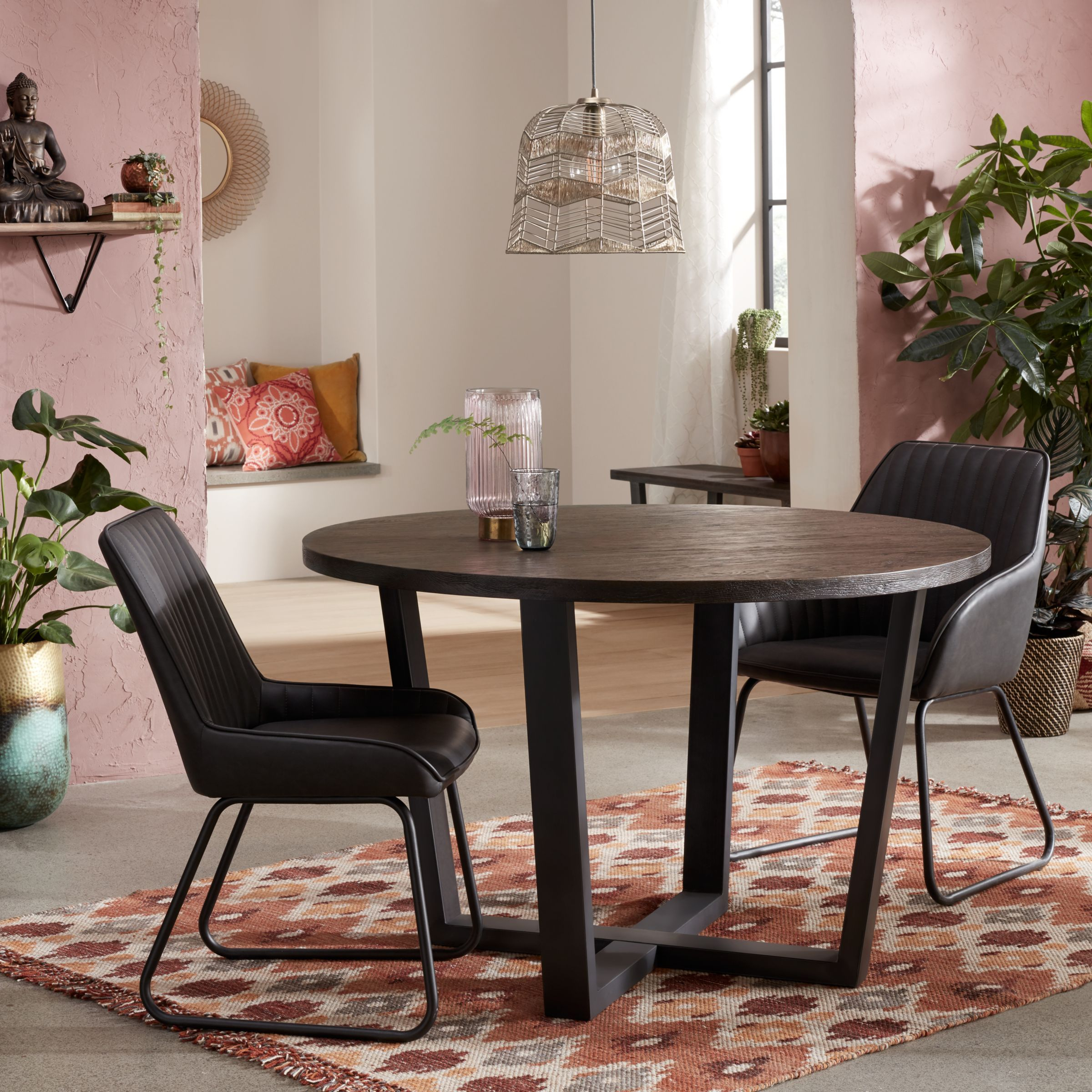 John Lewis & Partners Brooks Side Dining Chairs, Set Of 2 Inside Best And Newest Brooks Round Dining Tables (View 16 of 25)